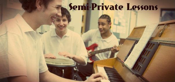 Semi-Private Lessons at Creative Soul School of Music