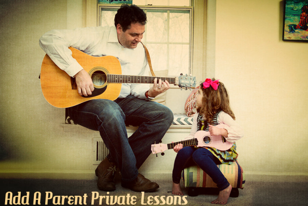 Add a Parent Private Lessons