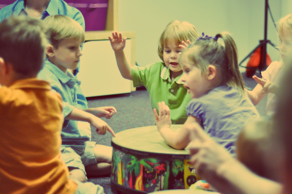 Group Music Classes for Babies, Toddlers, and Youngsters