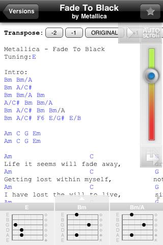 Ultimate Guitar App