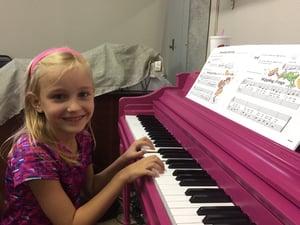 Piano Girl Pic