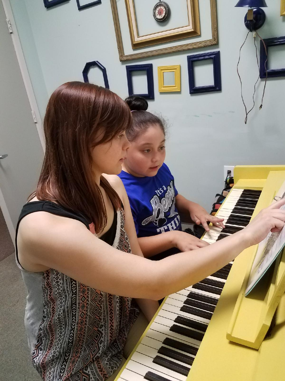 Active Piano Teaching Pic Jillian Instructor