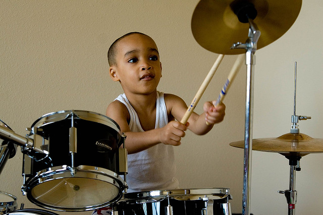 What Instrument Should Your Child Play? The Drums?
