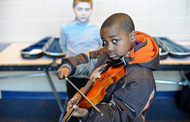 What Instrument Should Your Child Play? The Violin?